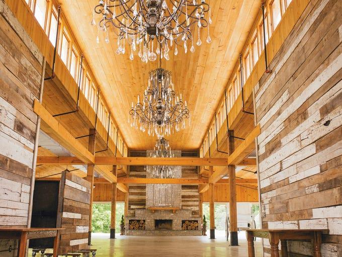 The barn at event venue Homestead Manor in Thompson's