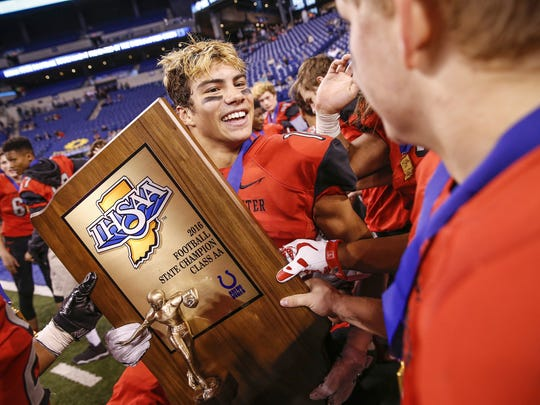 After winning the Class 2A title a year ago, Cardinal Ritter now moves up to 3A.