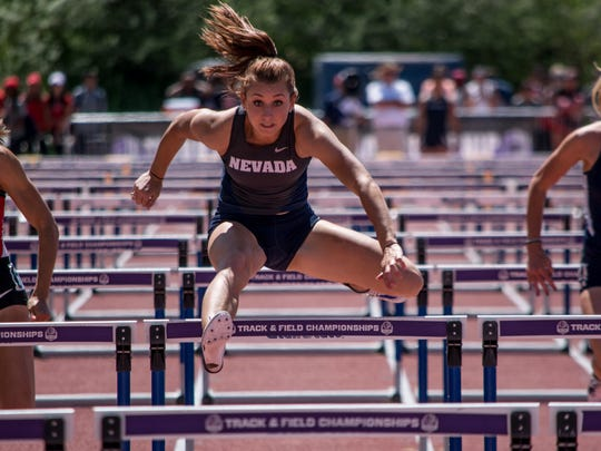 Nicole Wadden's top heptathlon score this year ranks 10th in the nation.