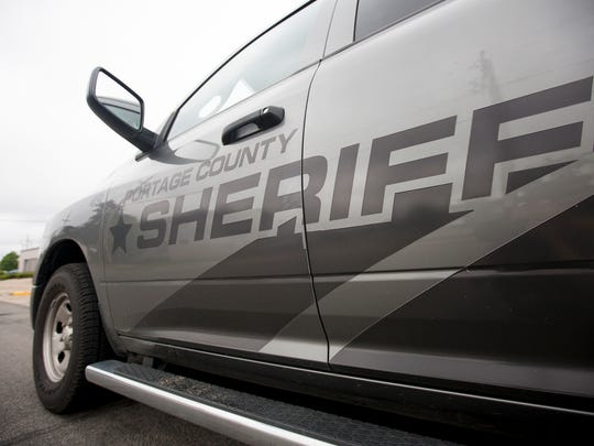 A Portage County Sheriff's vehicle.