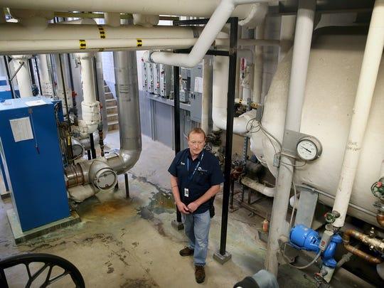 Central Kitsap School District electrician Ryan Watland