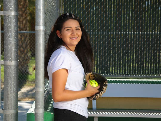 Vanessa Madera is selected as The Desert Sun's Female Athlete of the Year, Wednesday, June 14, 2017.