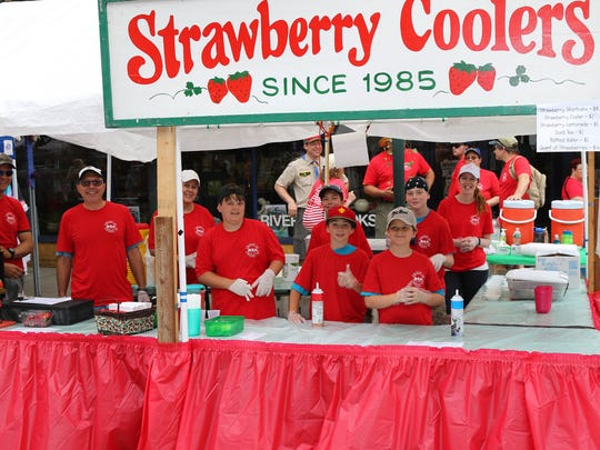 Get your strawberry fix at the annual Owego Strawberry Festival, which opens June 14.