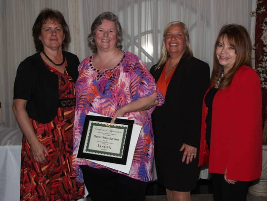 The Linden Chamber of Commerce named Dawn Victor-Beviano