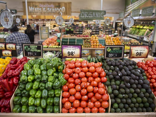 Sprouts Farmers Market stores devote about a fourth