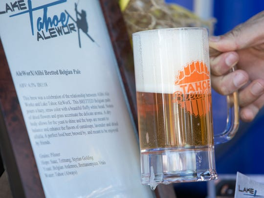 Lake Tahoe AleworX Alibi Bretted Belgian Pale Ale