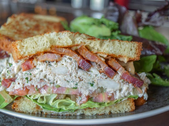 The crab BLT at Match Restaurant and Cocktails.