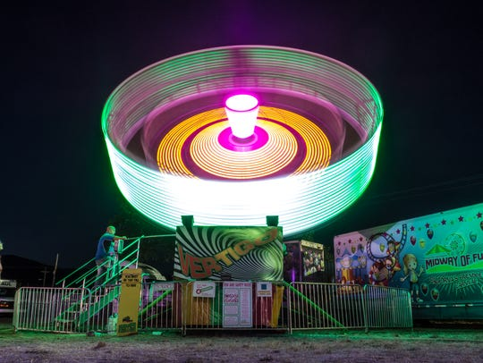 The Trinity County Fair opens this week.