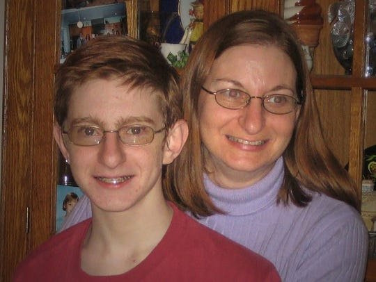 Jane Clementi with her son, Tyler, who took his own