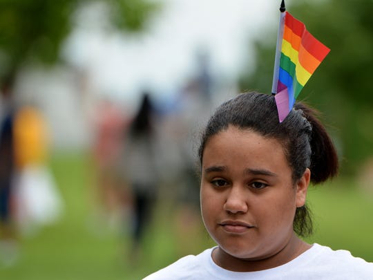 Kayla Minguela, 18 of York, attends the 4th Annual
