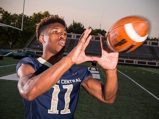 Tyrone Tracy, Decatur Central