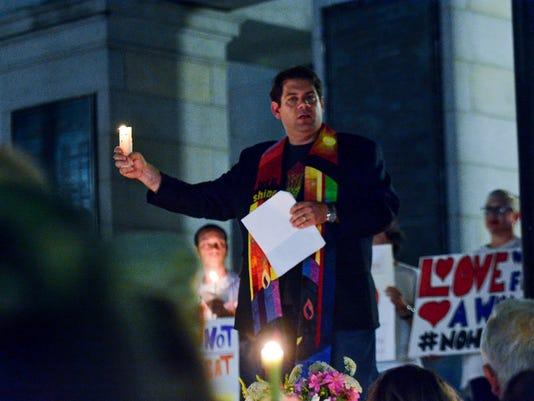 York Stands in Solidarity vigil