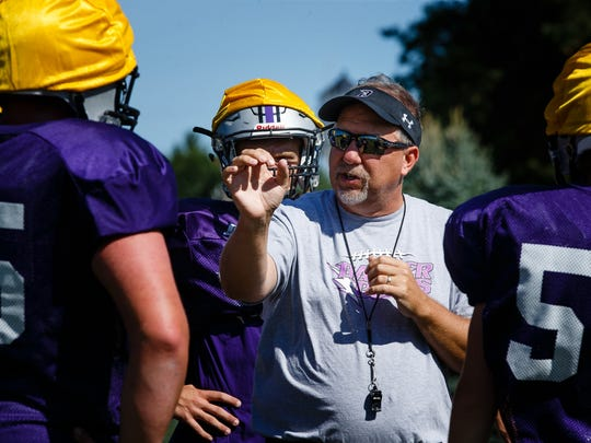 Rob Luther, Baxter's head football coach, believes Friday's game between the Bolts and Collins-Maxwell will be weird. The two schools joined in an athletic-sharing agreement from 1988 through 2017.