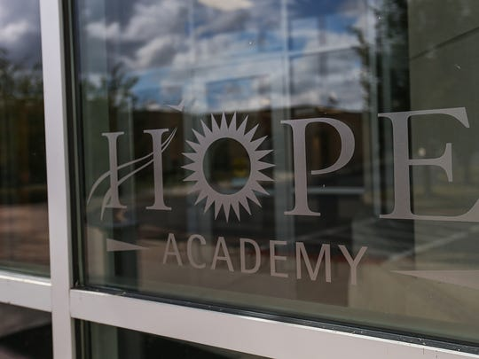 Hope Academy is a recovery school at Fairbanks Alcohol and Drug Addiction Treatment Center, Indianapolis, Ind., Tuesday, August 22, 2017.