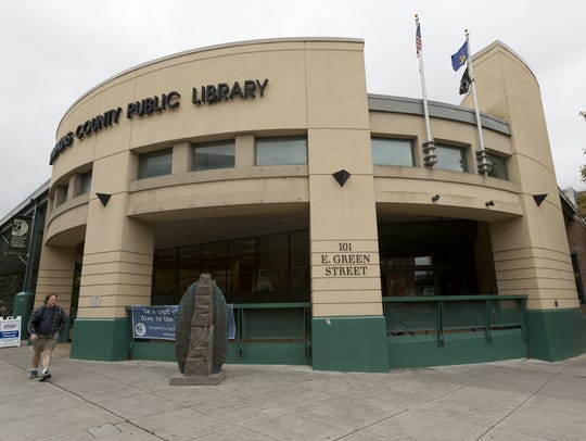 FILE PHOTO The current Tompkins County Library building