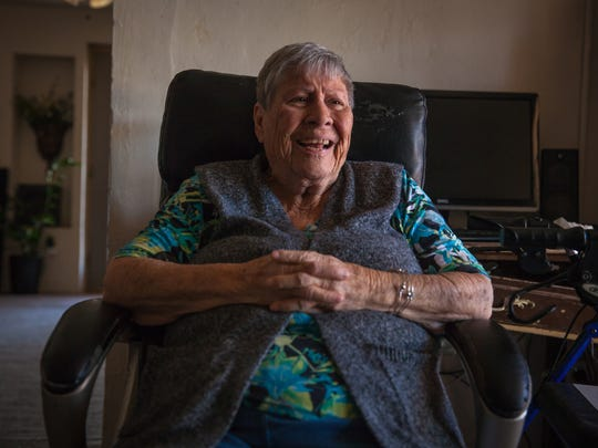 """""""We're country people; we don't cry about it,"""" Saturnina Mendoza, 87, said about the water in La Union, N.M., testing positive for arsenic levels above the EPA limit."""