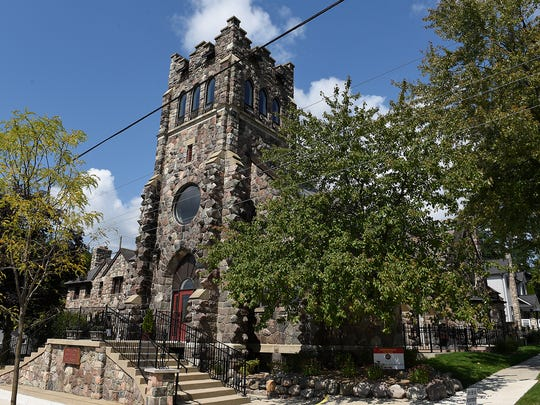The Stevenson's Bell Tower condo is in the former St. Mary Our Lady of the Snows Church on East Commerce.