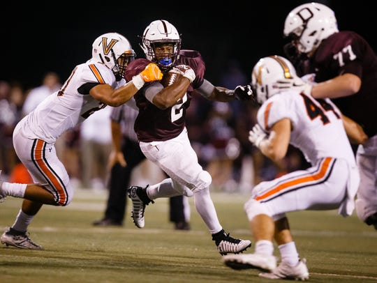 Dowling-Valley has morphed into one of the nation's best high school football rivalries.