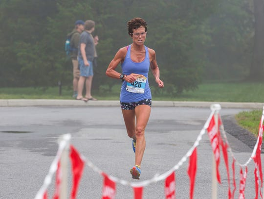 The 39th Dutchess County Classic was held on Sept. 17, 2017, a wet and foggy day. Marisa Sutera-Strange won the women's five-kilometer race for the 18th consecutive time.