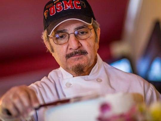 Ronnie Immediato, whose father was one of the Three Little Bakers, helped make pastries for his son Tony at the Middletown restaurant Immediato's Bistro. It's closing on Sept. 23, and owners plan to concentrate on their catering business.