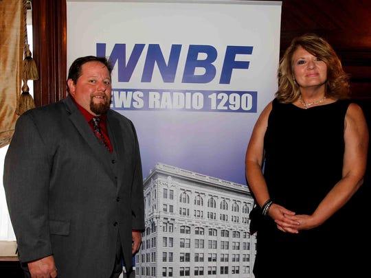 WNBF News Radio 1290 celebrates 90th anniversary at Roberson Museum and Science Center in Binghamton on Friday, September 22, 2017. Thomas La Barbera / Correspondent