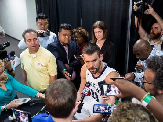 Grizzlies Media Day