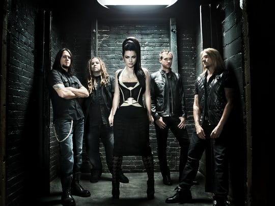 Evanescence performs Dec. 15 at the Grand Theatre.