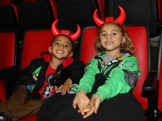 Young Binghamton Devils fans get ready for Saturday's