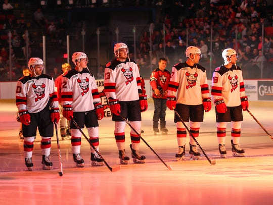 The Binghamton Devils take the ice Saturday in front