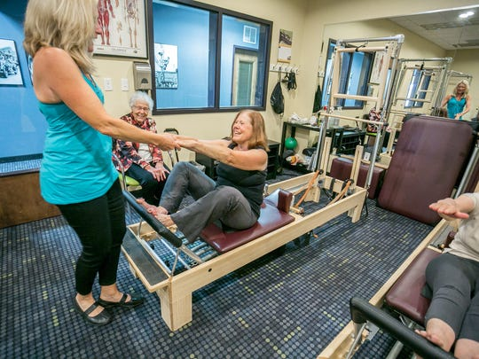 """Pilates is about getting people moving in the best"