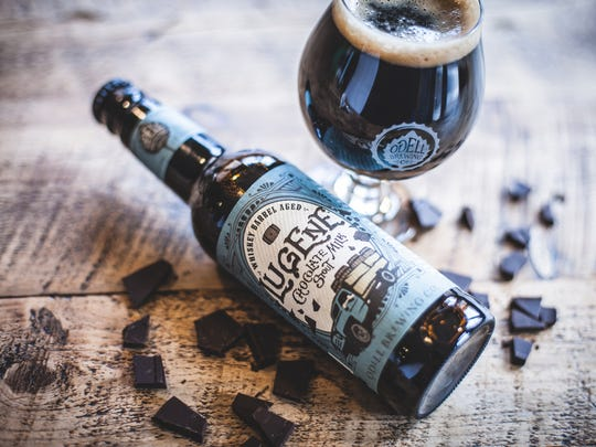 Odell Brewing has re-released Lugene chocolate milk stout after nearly a year hiatus.
