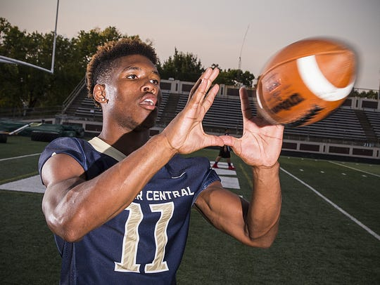 Tyrone Tracy keeps making plays for Decatur Central.