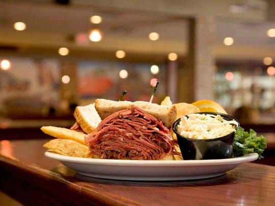Chompie's is known for hot pastrami on rye sandwiches, tuna melts, roast chicken and braised beef brisket.