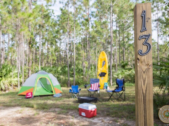 Port St. Lucie added a primitive and RV camping site to its McCarty Ranch Preserve in the western part of the city.