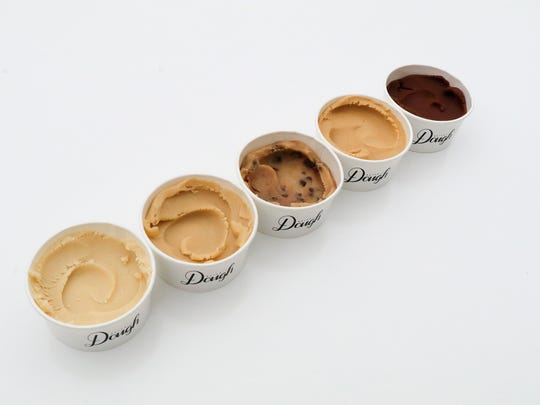 Detroit Dough's cookie dough flavors include chocolate