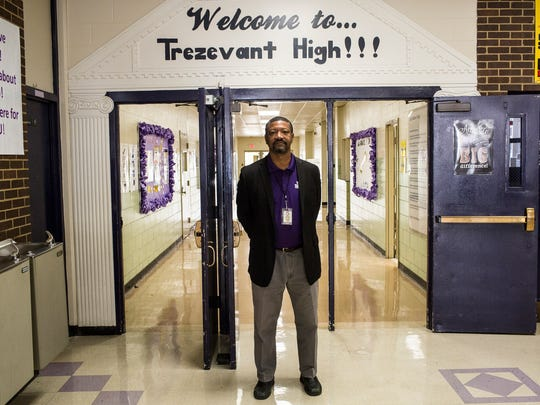 November 09, 2017 - Corey Kelly, principal at Trezevant