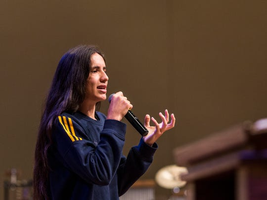 Xiuhtezcatl Martinez, youth director of Earth Guardians,