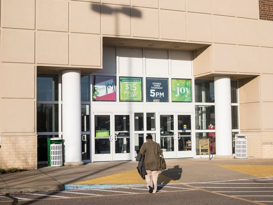 November 24, 2017 - A person walks into Kohl's on the