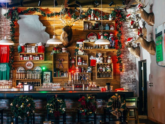 It looks a whole lot like Christmas these days at Missouri Spirits on Walnut Street.