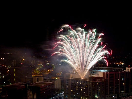 Downtown New Brunswick will celebrate New Year's Eve with fireworks off the roof of the Heldrich Hotel, a DJ in Monument Park, a Viennese concert at the State Theatre and many food and drink special at local eateries.