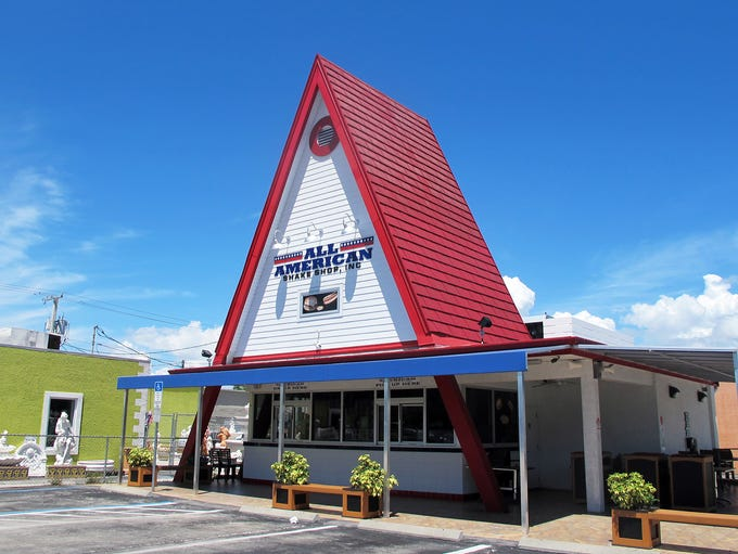 All American Shake Shop, operating out of the old Dairy