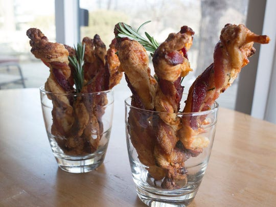 Sweet and Savory Bacon Twists.