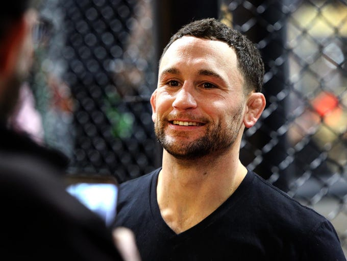 Toms River UFC fighter Frankie Edgar at his first anniversary