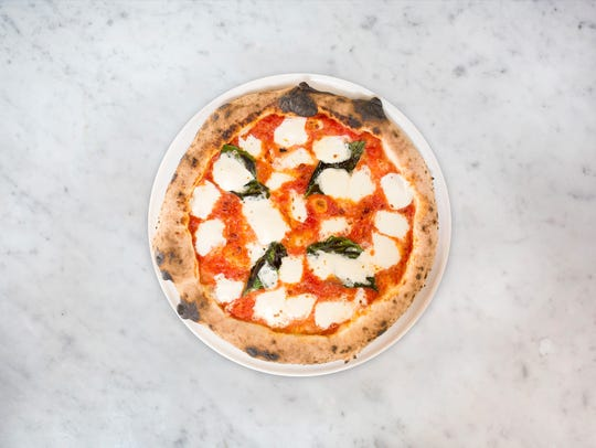 The Margherita pizza from MidiCi, the pizza concept