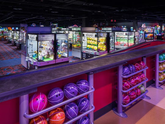 Round1 has bowling, billiards, ping pong, darts, arcade