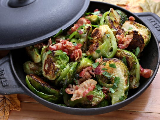 Brussels sprouts with pancetta at Tavern Americana