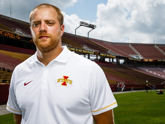 Tom Manning returned to Iowa State after spending one season with the Indianapolis Colts.