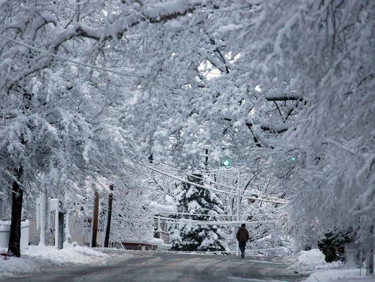 Poughkeepsie snow