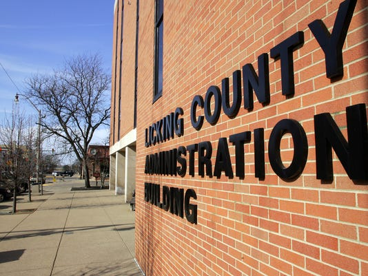 Licking County Administration Building stock art