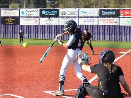 Byrd High School host Airline High School in Softball